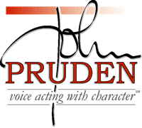 JOHN PRUDEN-Voice Acting With Character